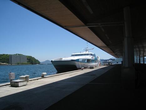 高速艇宮島
